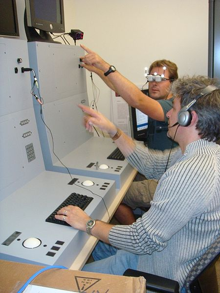File:UCSD Calit2 GRAVITY AR Training console 3.jpg